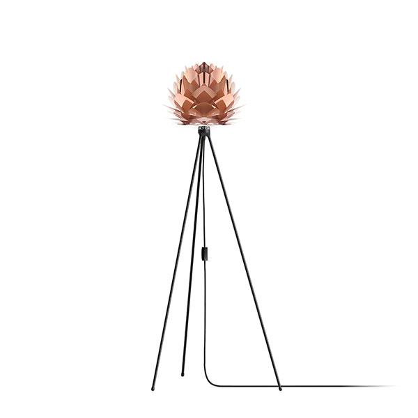ELUX エルックス 02031tfbk VITA Silvia mini copper (Tripod Floor/ブラック) 照明 照明器具 【電球別売】