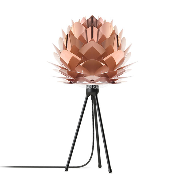 ELUX エルックス 02031ttbk VITA Silvia mini copper (Tripod Floor/ホワイト) 照明 照明器具 【電球別売】