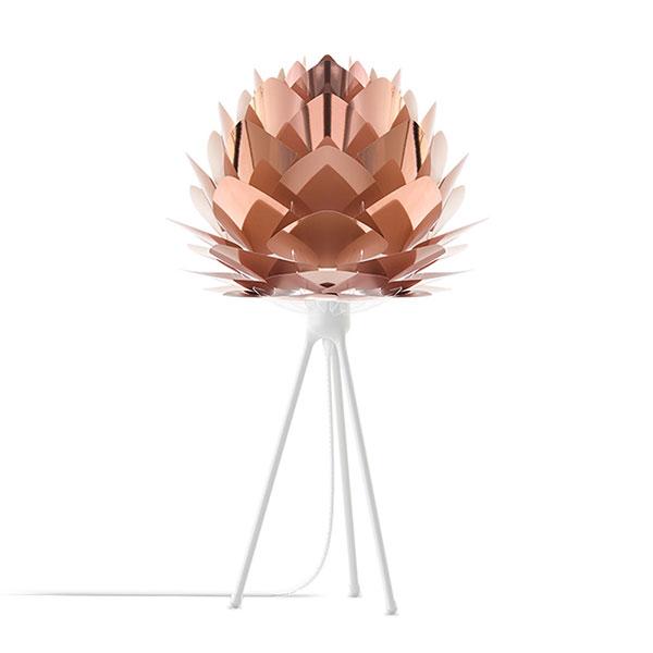 ELUX エルックス 02031ttwh VITA Silvia mini copper (Tripod Table/ホワイト) 照明 照明器具 【電球別売】