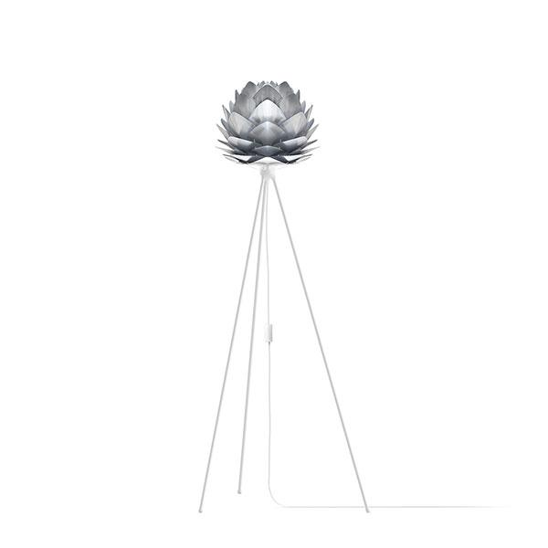 ELUX エルックス 02054tfwh VITA Silvia mini steel (Tripod Floor/ホワイト) 照明 照明器具 【電球別売】