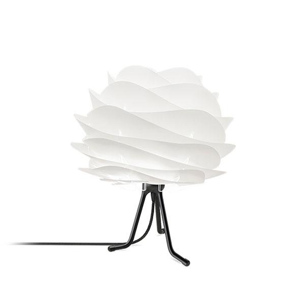 ELUX エルックス 02057tbbk VITA Carmina mini white (Tripod Base/ブラック) 照明 照明器具 【電球別売】