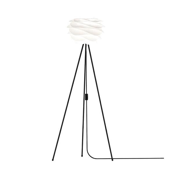 ELUX エルックス 02057tfbk VITA Carmina mini white (Tripod Floor/ブラック) 照明 照明器具 【電球別売】