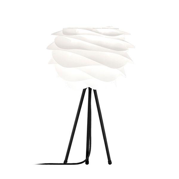 ELUX エルックス 02057ttbk VITA Carmina mini white (Tripod Table/ブラック) 照明 照明器具 【電球別売】