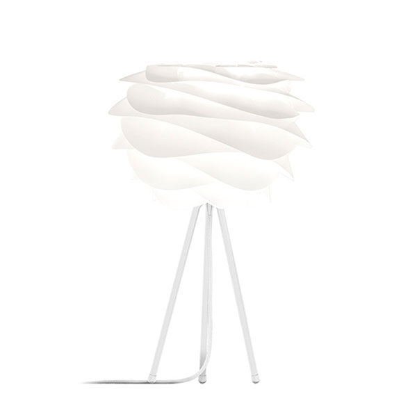 ELUX エルックス 02057ttwh VITA Carmina mini white (Tripod Table/ホワイト) 照明 照明器具 【電球別売】