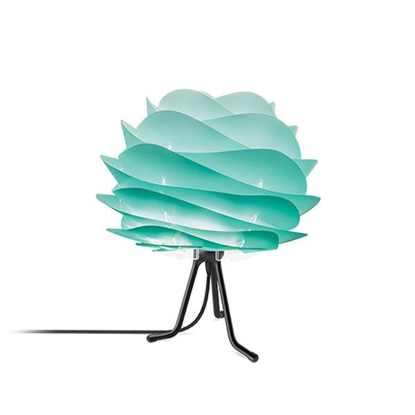 ELUX エルックス 02059tbbk VITA Carmina mini turquoise (Tripod Base/ブラック) 照明 照明器具 【電球別売】