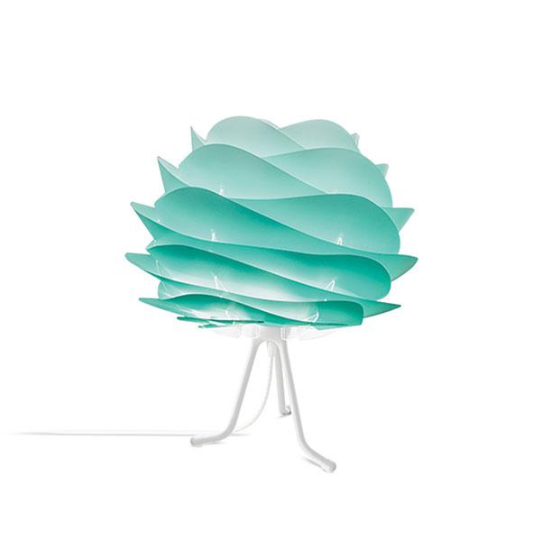 ELUX エルックス 02059tbwh VITA Carmina mini turquoise (Tripod Base/ホワイト) 照明 照明器具 【電球別売】