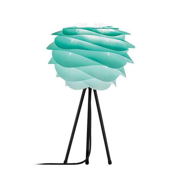ELUX エルックス 02059ttbk VITA Carmina mini turquoise (Tripod Table/ブラック) 照明 照明器具 【電球別売】