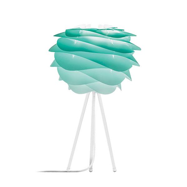 ELUX エルックス 02059ttwh VITA Carmina mini turquoise (Tripod Table/ホワイト) 照明 照明器具 【電球別売】