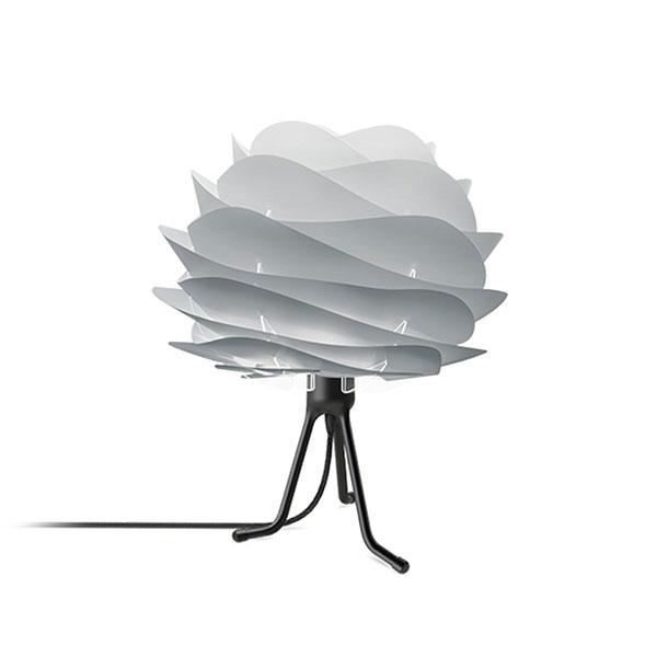 ELUX エルックス 02079tbbk VITA Carmina mini misty grey (Tripod Base/ブラック) 照明 照明器具 【電球別売】
