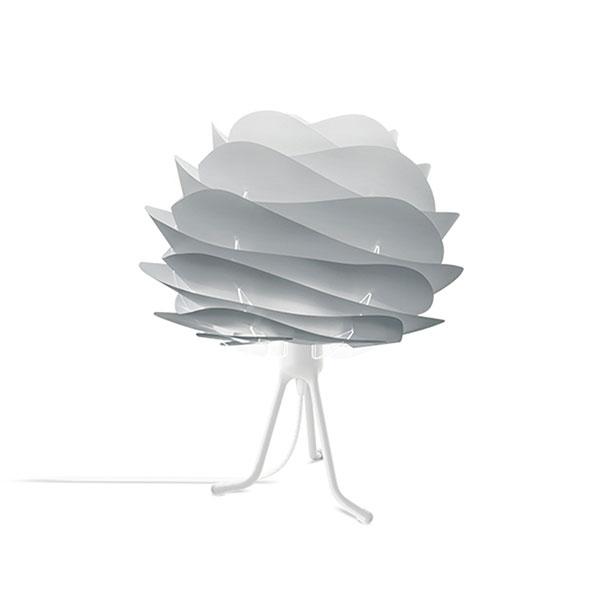 ELUX エルックス 02079tbwh VITA Carmina mini misty grey (Tripod Base/ホワイト) 照明 照明器具 【電球別売】