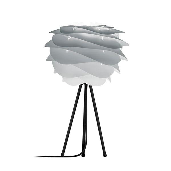 ELUX エルックス 02079ttbk VITA Carmina mini misty grey (Tripod Table/ブラック) 照明 照明器具 【電球別売】
