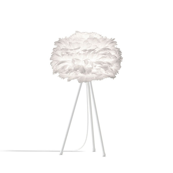 ELUX エルックス 03001ttwh VITA Eos mini white (Tripod Table/ホワイト) 照明 照明器具 【電球別売】