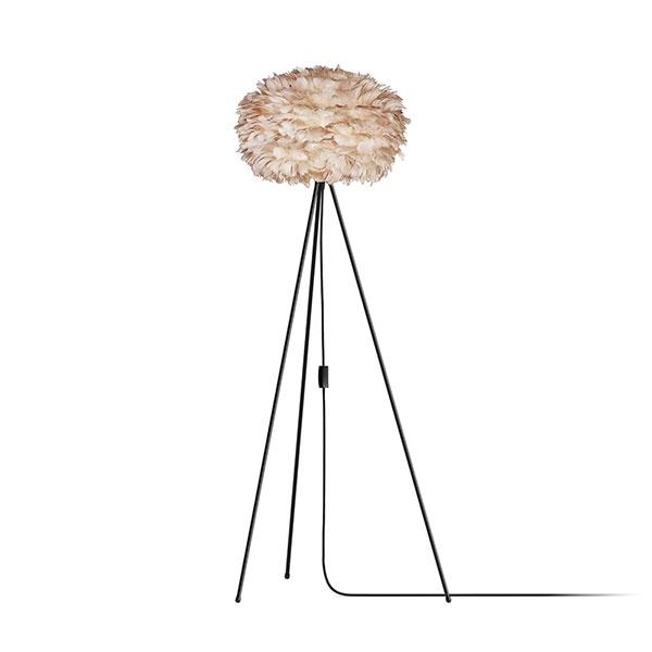 ELUX エルックス 03006tfbk VITA Eos light brown (Tripod Floor/ブラック) 照明 照明器具 【電球別売】