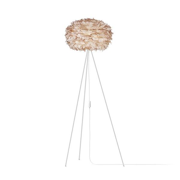 ELUX エルックス 03006tfwh VITA Eos light brown (Tripod Floor/ホワイト) 照明 照明器具 【電球別売】