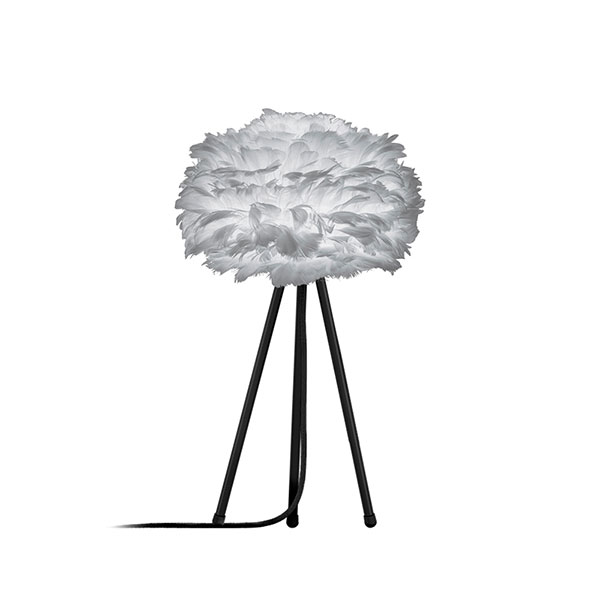 ELUX エルックス 03013ttbk VITA Eos mini light grey (Tripod Table/ブラック) 照明 照明器具 【電球別売】
