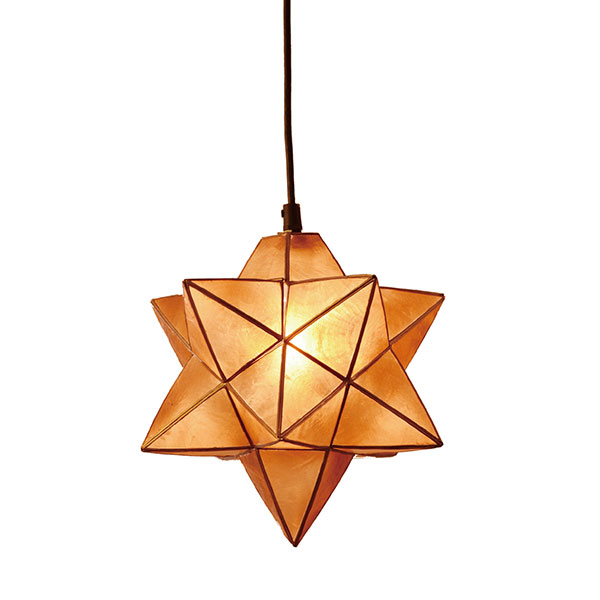 【P最大47倍7/26 1:59迄】ELUX エルックス lc10759 Roxas star pendant アンバー 照明 照明器具 【電球別売】 新生活