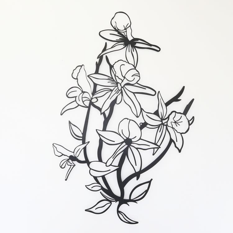 ウォールアート 壁掛け 大人気 壁飾り 花 爆買いセール 幅70×奥行2×高さ110cm 新生活 雑貨 イエナカ インテリア
