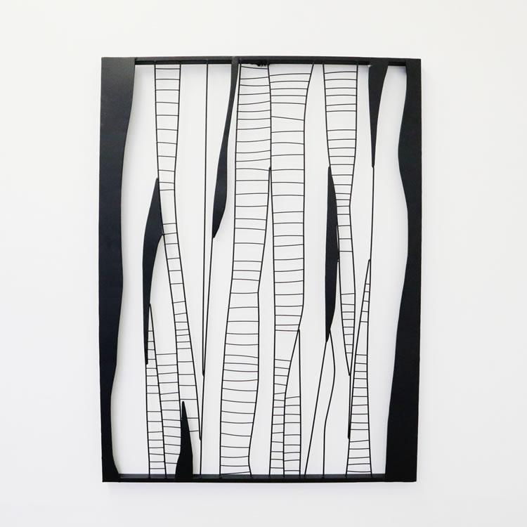 ウォールアートパネル 壁掛け 壁飾り 【幅64×奥行2×高さ85cm】 インテリア 雑貨