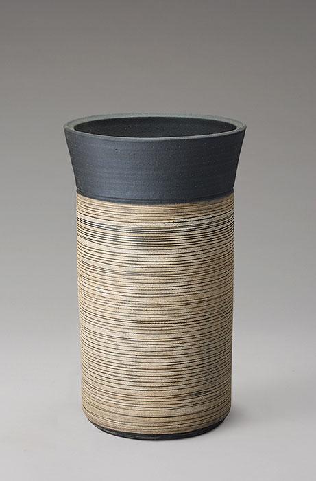 信楽焼 傘 立て ストリーム 傘立て 陶器 おしゃれ 日本製 国産 結婚祝い 新築祝い アンブレラスタンド