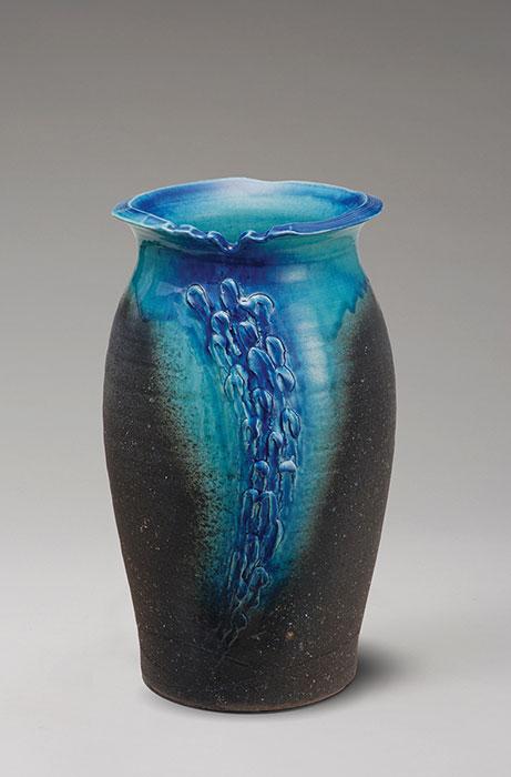 信楽焼 傘 立て 清流壷型 傘立て 陶器 おしゃれ 日本製 国産 結婚祝い 新築祝い アンブレラスタンド