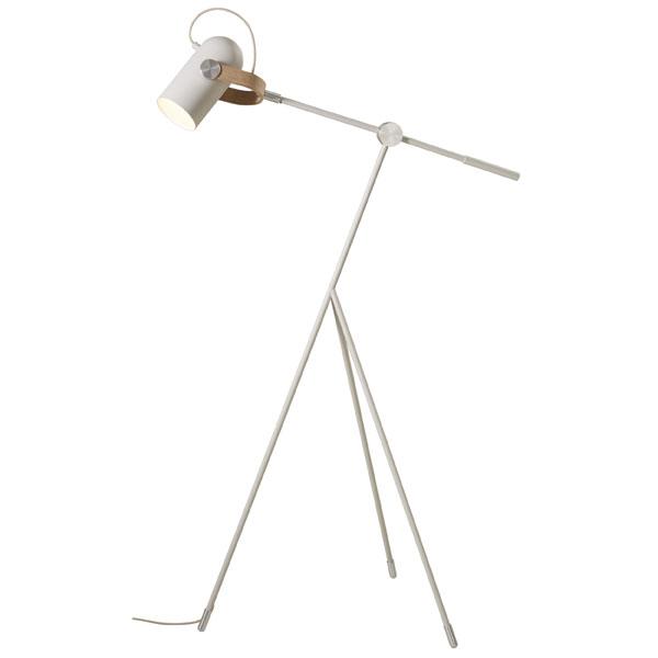 レクリント フロアランプ 【H1110~1130cm*D47cm】 CARRONADE カロネード フロアランプS ノルディック KF360SND ホワイト 北欧 照明 LE KLINT レ・クリント