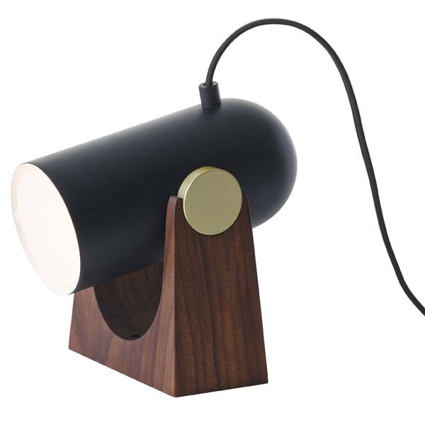 レクリント テーブルランプ 【H16~22*D15*W20cm】 CARRONADE カロネード テーブルランプS BK KT260SB ブラック 北欧 照明 LE KLINT レ・クリント
