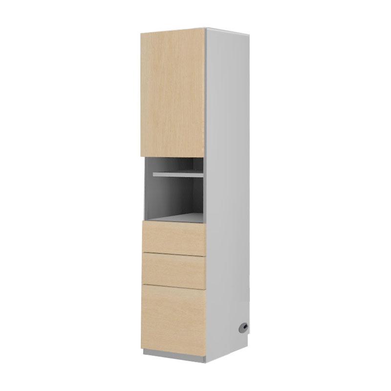 P最大52倍3 4 20時~ 関東地方限定 すえ木工 在庫一掃 Universal Storage 壁面収納 オープン USKD 下引き出しタイプ イエナカ 今だけ限定15%OFFクーポン発行中 40-TOH 開き上扉 D32 幅40×奥行32×高さ169cm