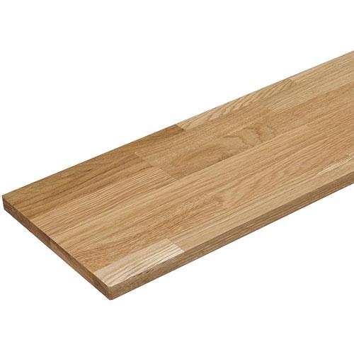 ウッドワン 棚板 オーク集成材 糸面 【幅(長さ)225×奥行45×高さ3cm】 MTF2250N-G4I-B 無垢の木の収納 インテリア 収納 棚受 リフォーム リノベーション DIY 大工 建材 おしゃれ 新生活