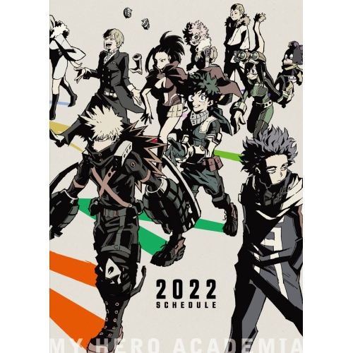 僕のヒーローアカデミア 2022年スケジュール帳※9月上旬⇒10月下旬発売予定
