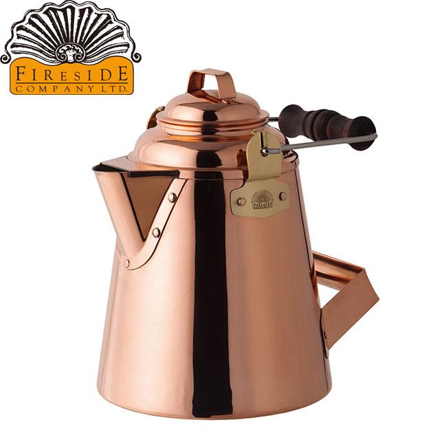 グランマーコッパーケトル(小) 使うほど様々な表情を醸し出す非常に雰囲気のある銅製ケトルです 使い勝手を考え抜かれた伝統的なデザインです。