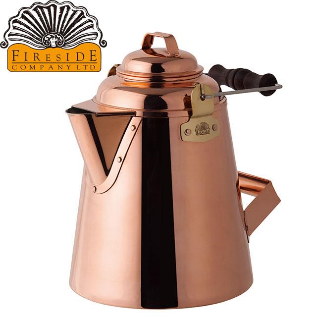 グランマーコッパーケトル(大) 使うほど様々な表情を醸し出す非常に雰囲気のある銅製ケトルです 使い勝手を考え抜かれた伝統的なデザインです。