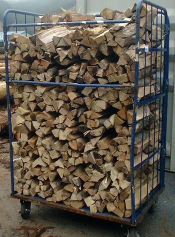 広葉樹ミックス乾燥薪36cm大中割75束(450kg) 規定乾燥期間6カ月以上 代引不可 日祝の配達不可 時間帯指定できません 薪ストーブ用の薪 蒔 たきぎ