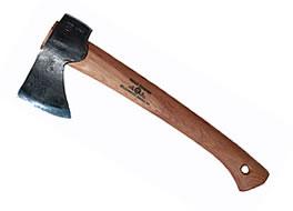 【送料無料】グレンスフォシュ・ブルーク ワイルドライフ スウェーデン鋼の頑強な斧。製作した職人のイニシャル入り。針葉樹などの焚きつけ作りに最適。片手斧人気ナンバーワン ハチェット アックス