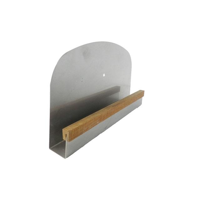 石窯クロスドーム専用蓋(ふた) 熱変形に強いステンレス製です。石窯内の温度を保つ際に使います。使用しない時に小動物が入るのを防ぐ役割もあります。 本体と同時購入で送料無料