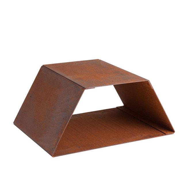 憧れの ヘックスボックス ハーフ Hexbox ハーフ Hexbox half half 鉄錆びの味わいを楽しむ台形のウッドストッカー 組み合わせて拡張が可能です。, MIDLAND SHIP:fd5922ba --- aqvalain.ru