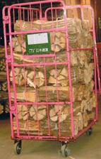 ナラの薪36cm大中割60束(北関東A)(540kg)|路線便輸送|委託生産者から出荷|日祝配達不可|午前午後「希望」可|蒔|まき|たきぎ