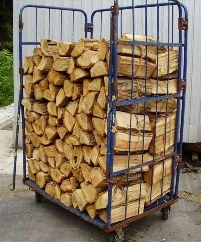 ナラ乾燥薪36cm特大割50束(550kg)【ご予約可能】太い薪のみを麻紐で結束 火持ち抜群です 規定乾燥期間10カ月以上 代引不可 日祝の配達不可 時間帯指定できません 薪ストーブ用の薪 蒔 たきぎ