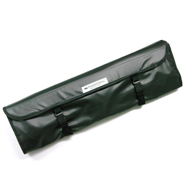 モノラル 焚き火ツールラップ|ワイヤフレームとその他オプションや焚火小物類をひとまとめに格納できるロール式のバッグ
