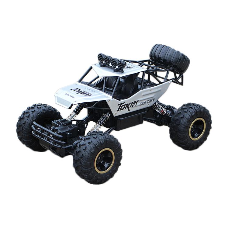 高速ラジコン クライミングカー 2.4GHz高性能バギー レーシング HOTSHOT自動車/車 オフロードカー アルミクライミングカー 6026E-Silver