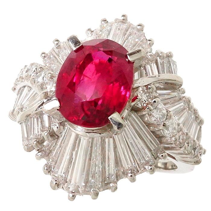 人気提案 9.5号 ルビー 計1.94ct 2.13ct ダイヤモンド 2.13ct 計1.94ct リング・指輪 Pt900プラチナ 12.2g 9.5号 レディース【】【真子質店】【ITxx】, シザイーストア:c80156e7 --- cpps.dyndns.info