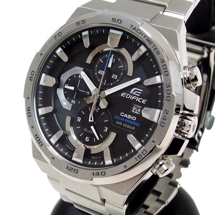【CASIO/カシオ】 EDIFICE(エディフィス) EFR-541SBD-1AJF 腕時計 ソーラー 黒文字盤 メンズ【中古】【真子質店】【IIx】【pdpd】
