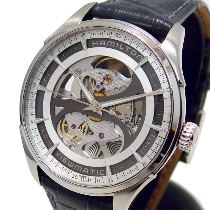 【HAMILTON/ハミルトン】 ジャズマスター ビューマチック H425550 腕時計 ステンレススチール 自動巻き/オートマ メンズ【中古】【真子質店】【DDx】