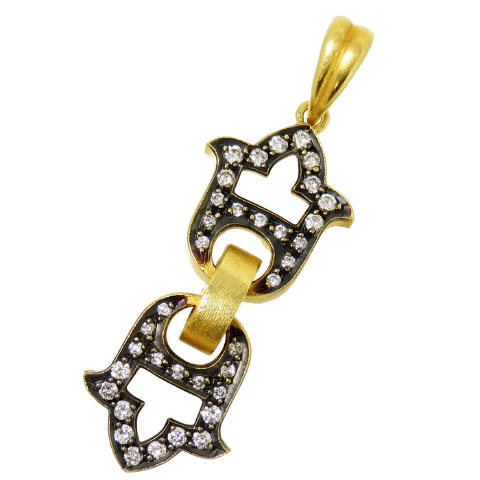 ダイヤモンド 計0.35ct ペンダントトップ K18ゴールド 18金 5.4g レディース【中古】【真子質店】【MaIS】