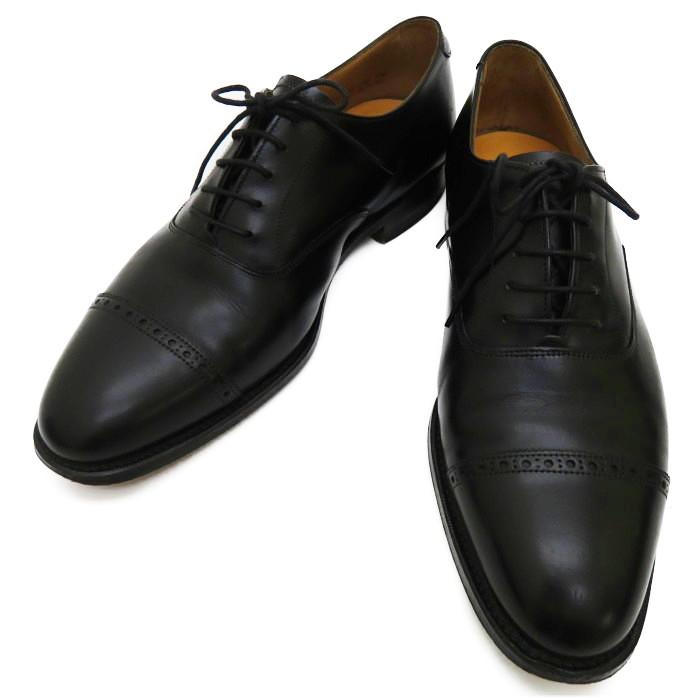 M3264B 【LLOYD FOOTWEAR/ロイドフットウェア】Mシリーズ パンチドキャップトゥ 89ラスト 紳士靴 英国靴 ビジネスシューズ カーフ ブラック メンズ【中古】【真子質店】【Mix】