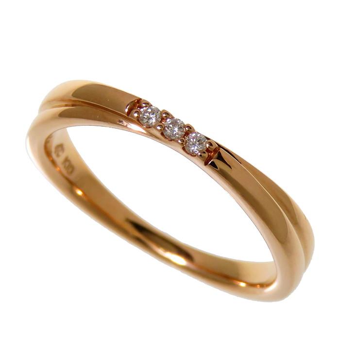 4℃ ダイヤモンドリング 12号 ヨンドシー ダイヤモンド リング 指輪 10金 真子質店 中古 K10ゴールド Yx 今ダケ送料無料 人気の製品 2.4g レディース