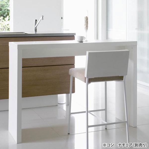 カウンターテーブル 木製 カウンターデスク ハイデスク 机 作業台 テーブル 高85cm アンガードカウンター WH(ホワイト) CT-30