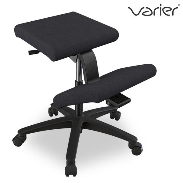 バランスチェア ウィング バリエール Varier Wing ファブリック:ブラック(FA0999) 北欧 デスクチェア キャスター付 ヴァリエール バランスチェアー