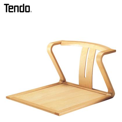 天童木工 座イス 座椅子 T-5845WB-NT ホワイトビーチ