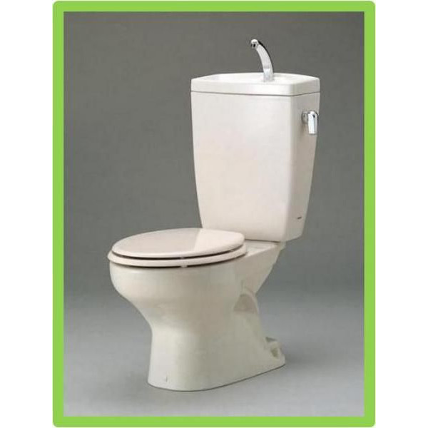 TOTO セレストR 壁排水便器 手洗付タンク(陶器製)CFS371PA 送料無料