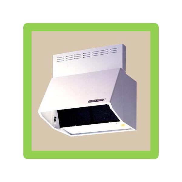 富士工業製 シロッコファンレンジフード W600×H600mm(BDR-3HL-601W)ホワイト 送料無料